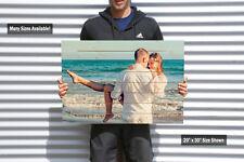 Custom Photo Pallet, Pallet Art, Anniversary Gift, 5th Anniversary, Pallet Sign