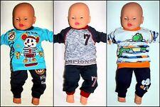 Baby 2er.Set Jungen Jogginganzug.Jacke+Hose.Baumwolle.Gr:68;74;80;86(6-18 Monat)