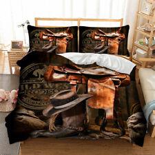Cool Cow Boy Duvet Quilt Cover Set Queen King Size Bedding Set Doona Cover AU