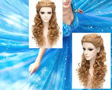 Cenerentola - Vestiti Carnevale Parrucca Dress up Cinderella Wig WCIN001