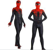 Superior Spider-Man Costume Spandex Halloween Spiderman Cosplay Zentai Suit Hot