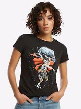 Lady Thor Black Shirt Marvel Comics Her Universe Women's T Shirt XS S M L 2XL