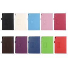For Lenovo Tab 4 10 Plus Premium TPU Leather Stylish Style Accurate Cutouts Case