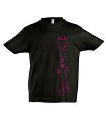Cheerleader Shirt schwarz Kinder Kids 04 Wunschname Cheerleading bedruckt