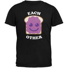 Couples Jelly Sandwich Black Adult  T-Shirt