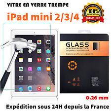 iPad MINI 2/3/4 vitre protection Film de protecteur d'écran en verre trempé