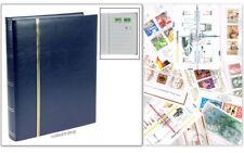 SAFE CLASSIFICATORE A4 64 FACCIATE BIANCHE COPERTINA BLU + FRANCOBOLLI A SCELTA