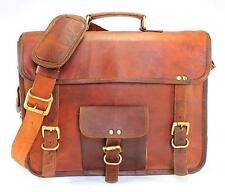Vintage Leather  Camera Bag Padded Briefcase Macbook Satchel Messenger bag