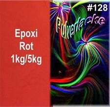 capa del Polvo Polvo Para Recubrimiento Pintura en polvo rojo epoxid