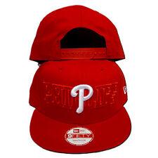 Original NEW ERA - 9FIFTY Philadelphia Phillies Snapback Cap MLB rot