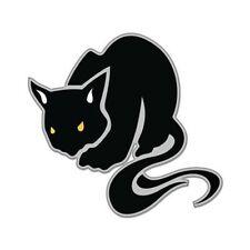 Black Cat Kitty Car Vinyl Sticker - SELECT SIZE