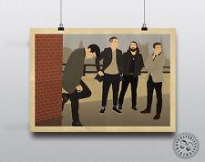 ARCTIC MONKEYS Minimalist Music Poster Posteritty Minimal Alex Turnerl Print