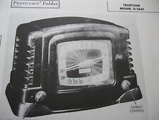 TRUETONE D2661 RADIO PHOTOFACT