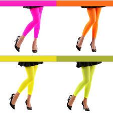 Neon Leggings 70 DEN, versch. Farben, ideal als Grundlage fürs Karnevalskostüm