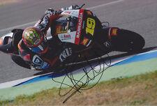 Alvaro Bautista mano firmato MOTO GP 2012 SAN CARLO HONDA FOTO 12X8 3.