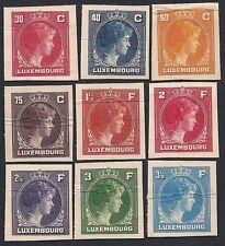 LUSSEMBURGO 1944/46 - PROVE DI STAMPA, GRANDUCHESSA CARLOTTA