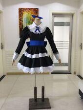 Panty Stocking Maid Dress with Socks Cosplay Costume Custom Made HH.1056