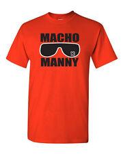 "Manny Machado Baltimore Orioles ""Macho Manny"" jersey  T-shirt  S-5XL"