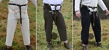 Ulfberth Mittelalterhose aus Baumwolle mit Nesteln Mittelalter Hose LARP M-XL