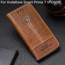 For Vodafone Smart Prime 7 VFD600 Phone Case Luxury Flip Wallet PU Leather Cover