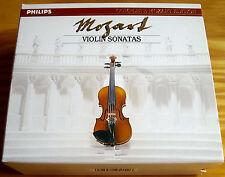 Mozart Violin Sonatas Grumiaux PHILIPS 7CD 2BOX FULL SILVER
