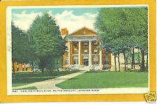 Lansing Michigan Postcard - Blind Asylum