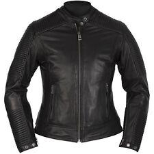 Men's Real Lambskin Black Leather Motorcycle Jacket Black Biker Jacket