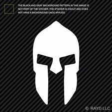 Spartan Helmet Sticker Die Cut Decal sparta hoplite greece