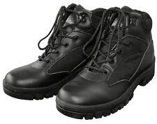 Outdoor BOOTS Stiefel SEMI CUT Schwarz Kampfstiefel Wander-Schuhe Halbstiefel