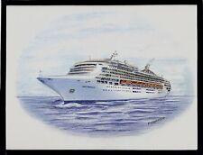 Original Art Work ...ms SUN PRINCESS .... cruise ship... Princess cruises