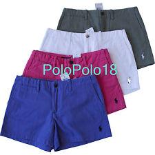 New Ralph Lauren Sport Women Pony Mini Shorts 2 4 6 8 10