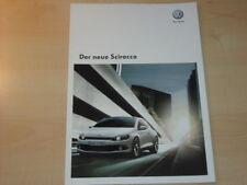22514) VW Scirocco Prospekt 2008