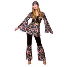 SALE  Womens Peace Loving Hippie 60s 70s Flower Power Hippy Power Costume 2111