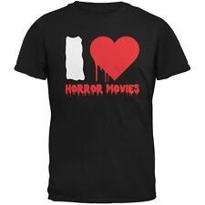 Halloween I Heart Horror Movies Black Adult T-Shirt