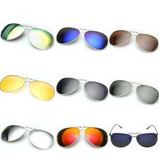 New Hot Men Women Popular Fashion Style Lens Clip-on Flip-up Myopia SunGlasses