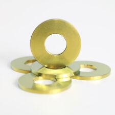 M8 Titanium Washers M8 x 20mm Diameter 1.5mm thickness 1.6g each Gold Anodised