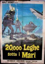 WALT DISNEY  20000 LEGHE SOTTO I MARI MANIFESTO ORIGINALE DEL FILM  (2674)