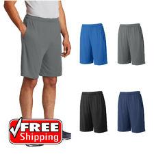 cd1e37c2539d Mens Sport-Tek Competitor Pocket Shorts Dry Wicking Workout Training Run  ST355P