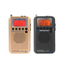 Portable Full Band Radio Aircraft Band Receiver FM/AM/SW/ CB/Air/VHF LCD U1P1