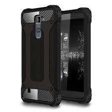 Schutz Handy Hülle für LG K10 (2017) Hart Hybrid Armor Outdoor Full Cover Case