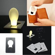 Portable Ultra-thin LED Wallet Pocket Credit Card Size Lamp Night Light HOT Beam