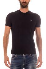Maglietta Armani Jeans AJ T-Shirt Sweatshirt % Uomo Nero 8N6D016JPFZ-1200