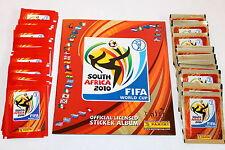 Panini WC WM 2010 South Africa – STARTER PACK ALBUM + 2 x 50 = 100 TÜTEN PACKETS