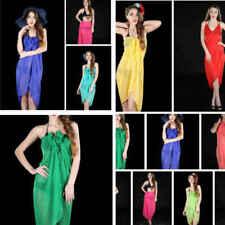COTTON Large Sarong Beach Pareo Dress Wrap Swimwear Cover Up Unisex  200 x 110cm