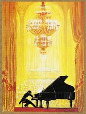 Quality POSTER.Piano Concerto.Musical gold.Home Room Decor deco art print.q749