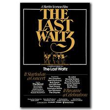 K3338 THE LAST WALTZ MOVIE POSTER SS ORIGINAL 2002 Re-Release MARTIN Art Poster