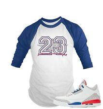 26a67a2eab23bb Base Ball T Shirt to Match Air Jordan 3 International Flight Shoe Graphic  Tee