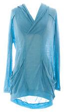 DIESEL Women's Aqua Jeny Vestito Tunic LS Wool/Nylon Top #00C4G9 NEW