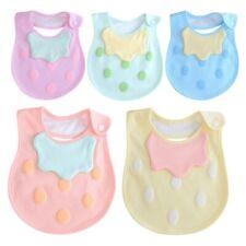 Newborn Baby Boys Girls Bibs Waterproof Saliva Towel Burp Cloth Feeding Bandana