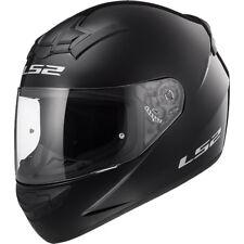 LS2 FF352 FULL FACE MOTORCYCLE MOTORBIKE HELMET GLOSS BLACK PLAIN ROOKIE